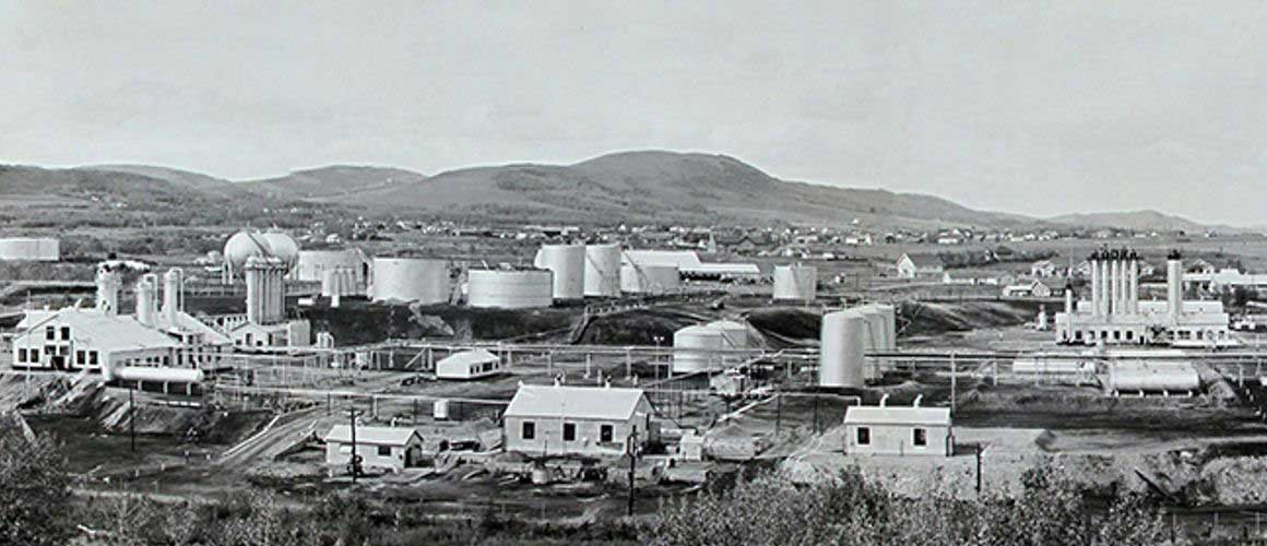 Turner Valley Gas Plant 1946