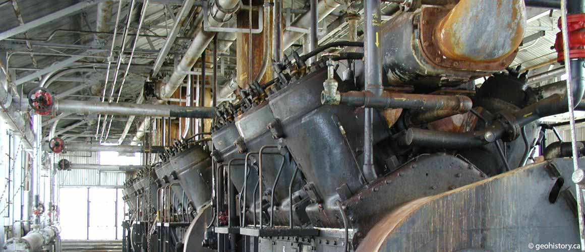 Turner Valley Gas Plant V6 compressors